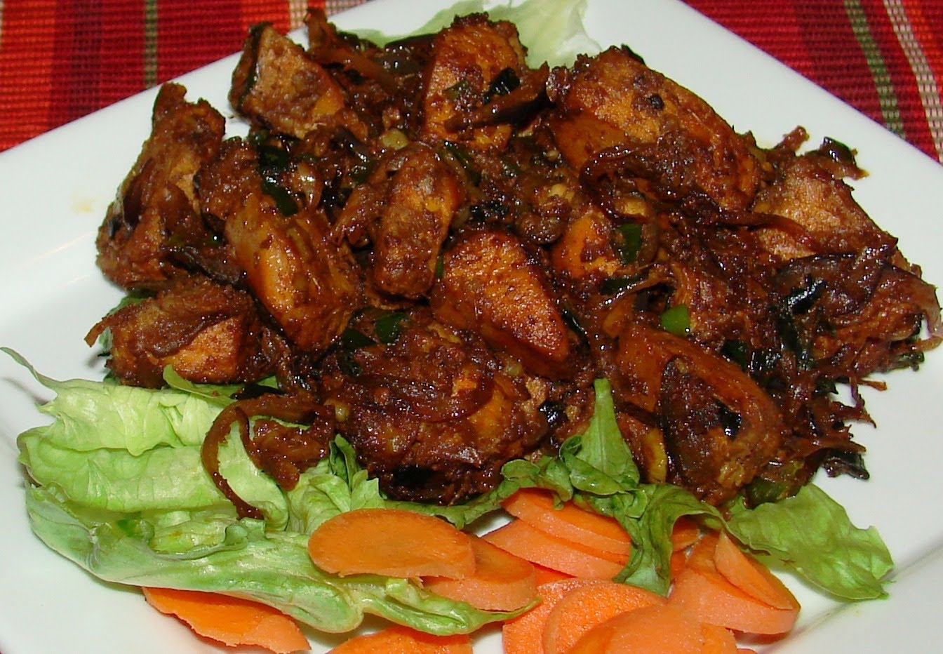 Delicious and Spicy Chicken Roast dry recipe ...