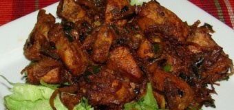 Delicious and Spicy Chicken Roast dry recipe