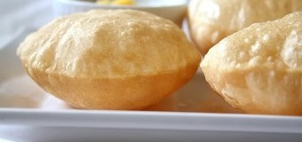 How to prepare maize flour poori or puri ?