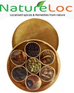 Natureloc spices box cooking ingredeints