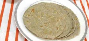 Pearl millet or Bajra roti