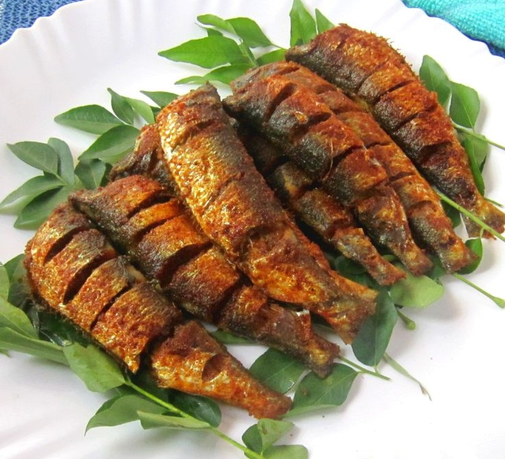 Sardine fry, Mathi varuthathu, Chaala varuthathu