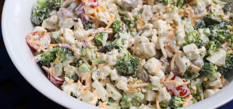Yoghurt Broccoli Salad  – A healthy salad recieps