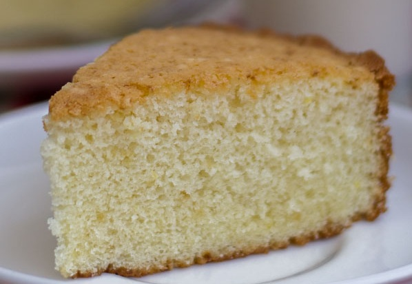 Soft and spongy tea cake