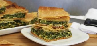 Classic Spinach Pie Greek – Spanakopita Recipes