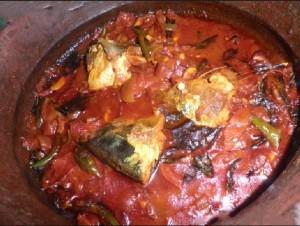 Unaakka meen mulku curry Ayala Vattichathu