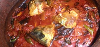 Unakka meen mulaku akari -Sun dried fish curry
