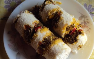 irachi puttu recipes