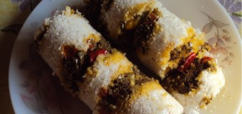 Puttu (Steamed) – Chiratta Puttu – Culinary Speciality in Kerala