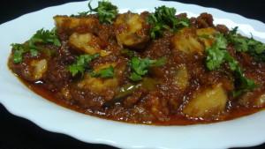 mushroom kulambu mushroom gravy curry