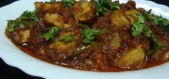 Mushroom kulambu – Mushroom Gravy curry