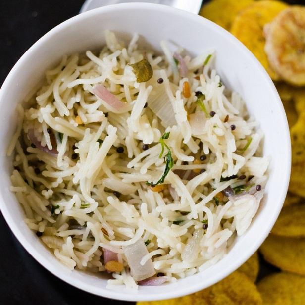 How to make Rice Vermicelli Upma or Akki Shavige Uppittu