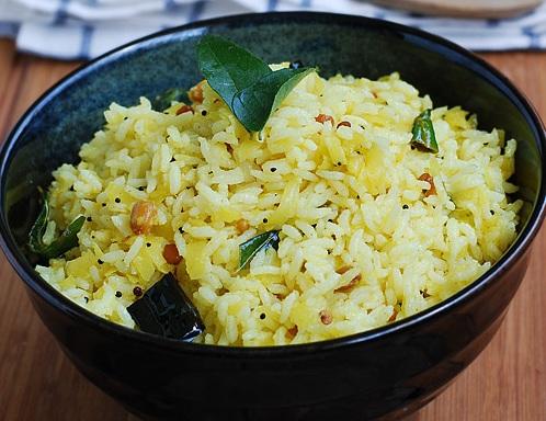 Mango rice or Mangai Sadam