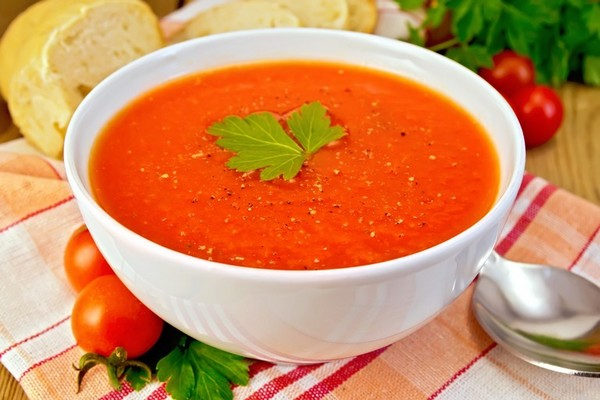 Simple and spicy tomato soup recipe - Healthyliving