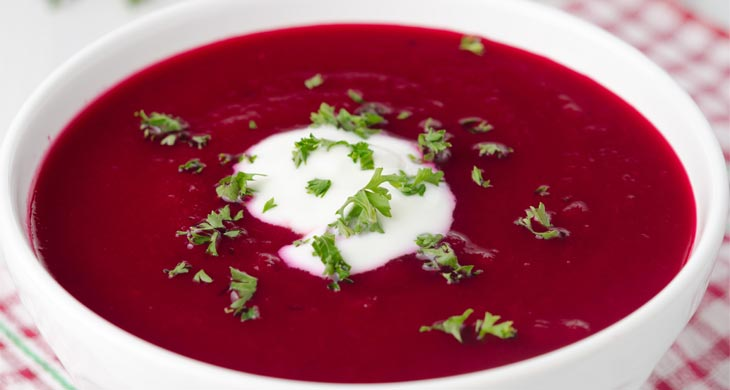 beetroot-soup carrot soup recipes natureloc