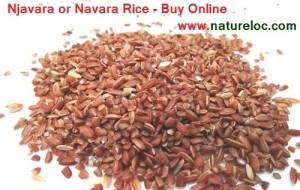 Medicinal Porridge Njavara rice,Njavara rice powder,njavara rice bran available online from Natureloc