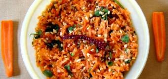 Carrot Kosambari, Carrot Salad
