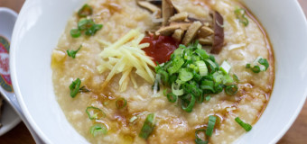 Chicken rice congee – Rice Porridge