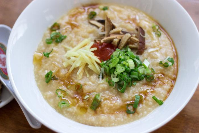 Chicken rice congee - rice porridge