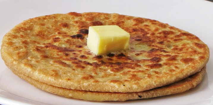 Gobi Paratha, Cauliflower stuffed Paratha
