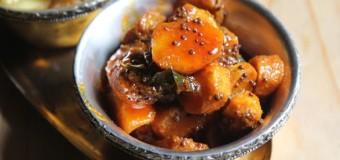 Inji Manga Achar or Mango ginger pickle