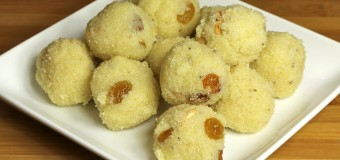 Rava laddu, Rave unde, Semolina Sweet Balls
