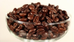 Roasted Coffee Beans green and black natureloc