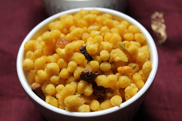 Sweet and yummy Boondi recipe