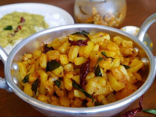 Urulakkizhangu Mezhukkupuratti, Stir fried Potato Recipe