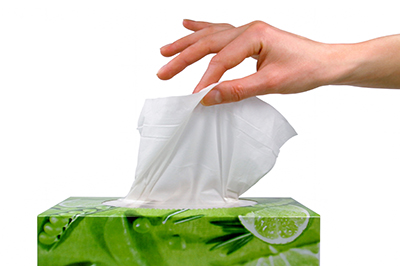 cold-flu-tissue always carry tissues