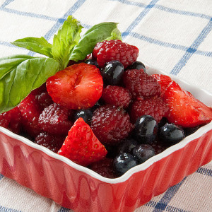 red fruit salad recipes