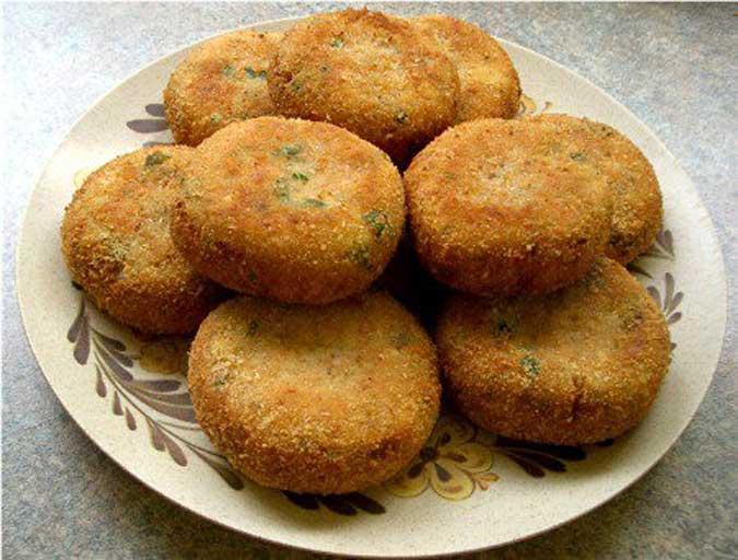 Potato Cutlets, Aloo Tikka
