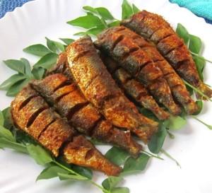 Sardine-fry-Mathi-varuthathu-Chaala-varuthathu