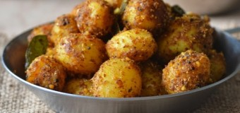 Spicy Baby potato podi
