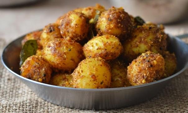 Spicy Baby potato podi - Healthyliving Natureloc