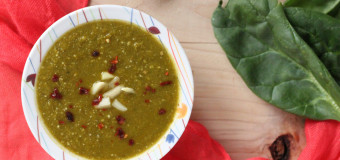 Spinach soup recipes –  Vitamin rich pureed vegetables soup