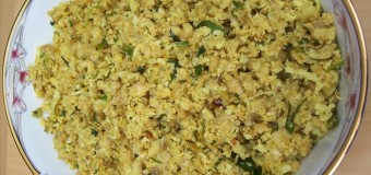 Sura Meen Puttu, Mashed shark fish recipe