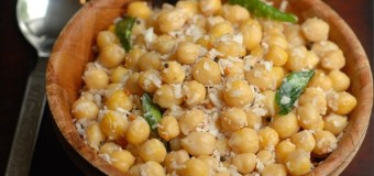 How to make White Channa Sundal?