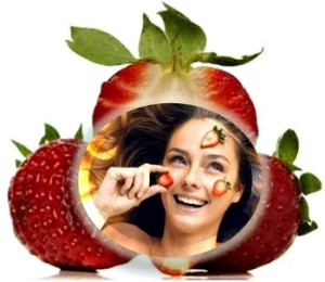 strawberry-face mask skin natureloc