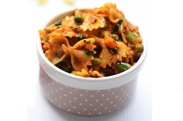 Masala Pasta recipe - Healthyliving, Natureloc