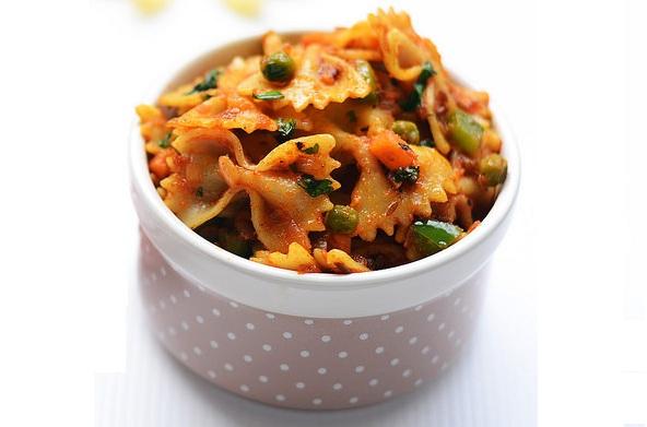 Masala Pasta recipe - Healthyliving, Natureloc