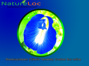 Shankupushpam (Clitoria Ternatea) Crushed Buy online Natureloc