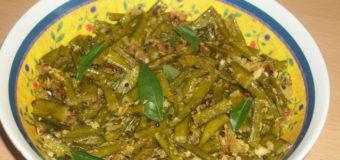 Kothavarangai Varuval, Cluster bean stir fry, Gawaar recipe