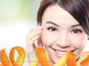 skin lightening using orange peel powder