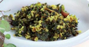 Thazhuthama Leaf Thoran(Punarnava Ella/Ila) – A simple Nadan Kerala Recipe