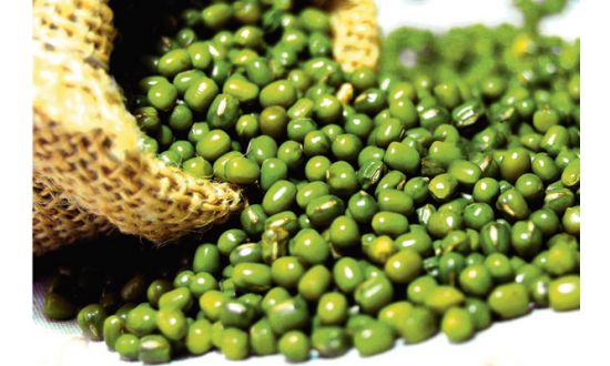 Green Gram Dal Combines Health And Beauty In Nature