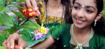 Onam Pookkalam – Traditional way of making Atha pookalam