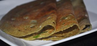 Pesarattu or Moong Dal Dosa Recipe