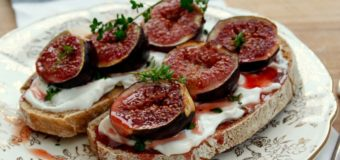 Grilled Honeyed Figs With Sabayon Recipe – Italian Dessert