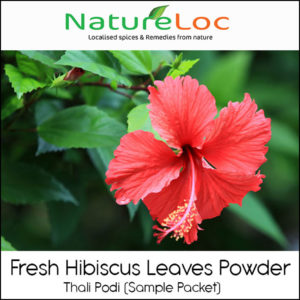 Why Use Hibiscus Leaves Powder Thali Podi For Your Hair Healthy Hair